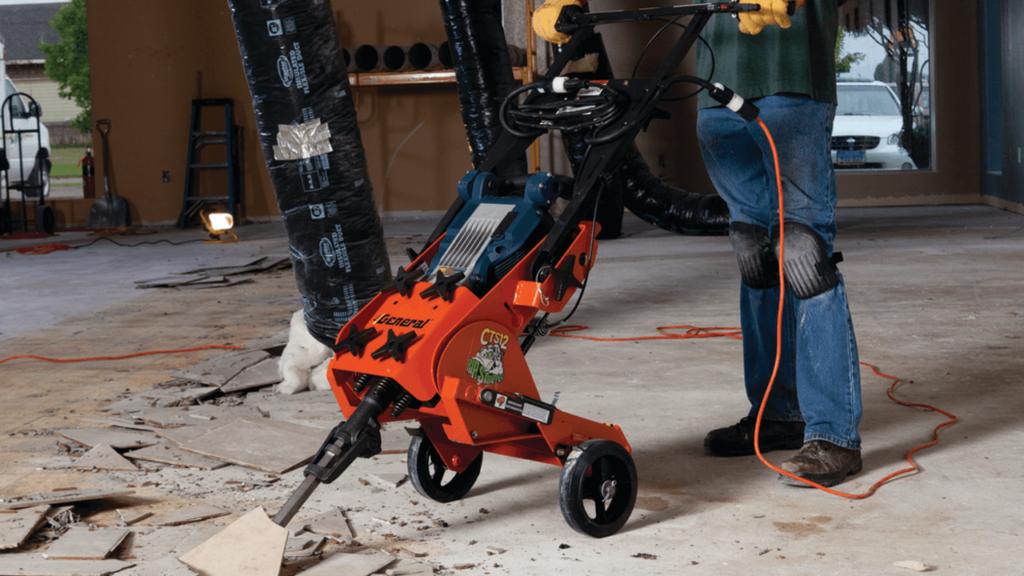 Demolition Hammer For Tile Removal (1)