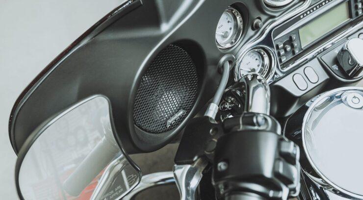 Motorcycle Fairing Speakers