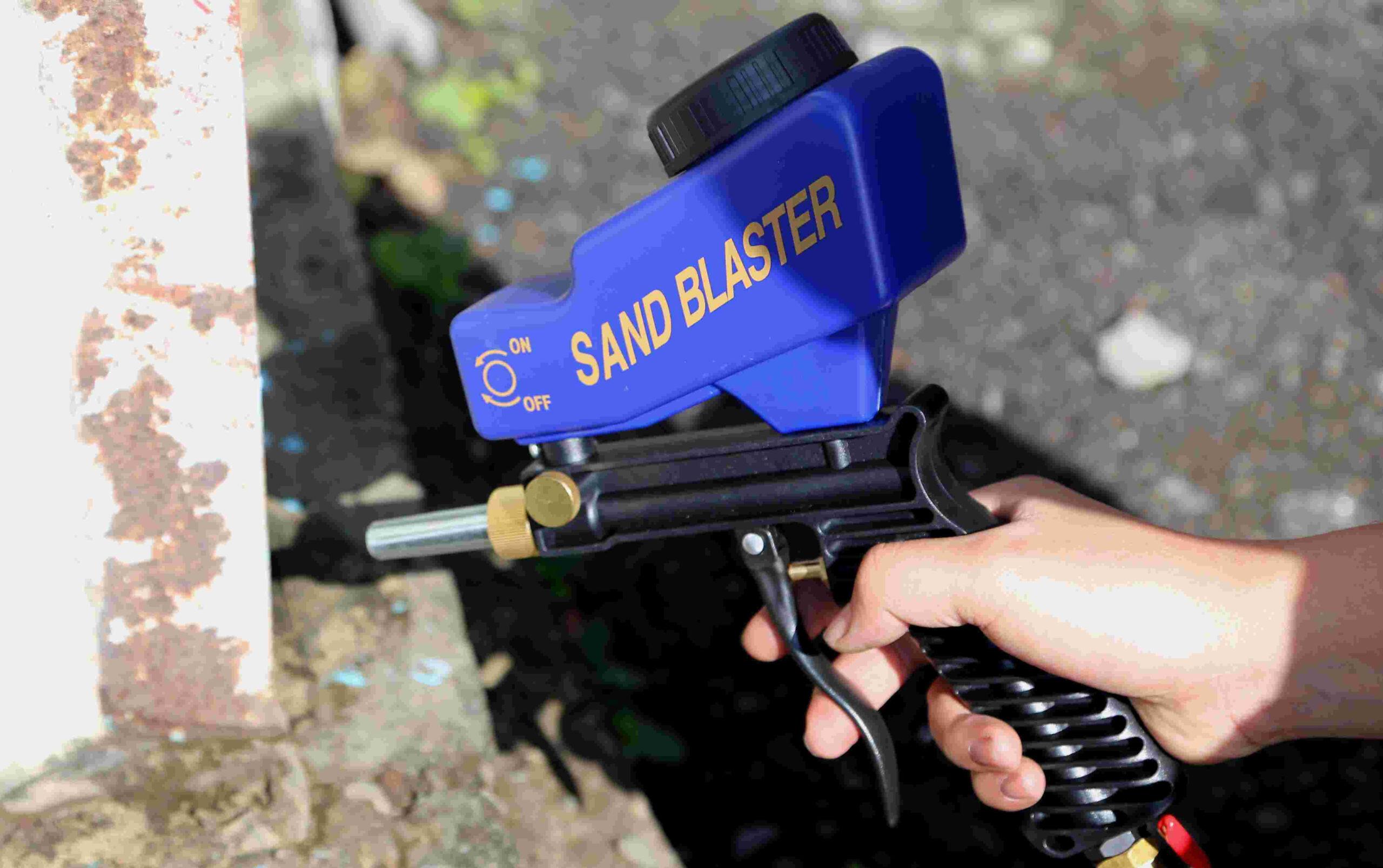 Sandblaster Gun
