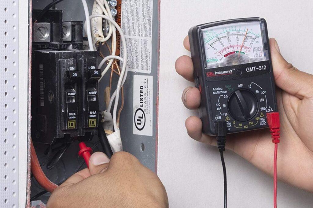 Multimeter For HVAC